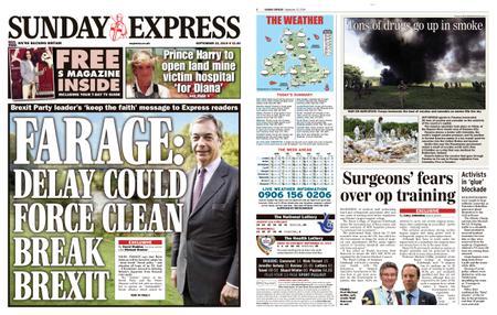Daily Express – September 22, 2019