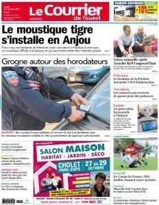 Le Courrier de l'Ouest Angers - 23 Octobre 2017
