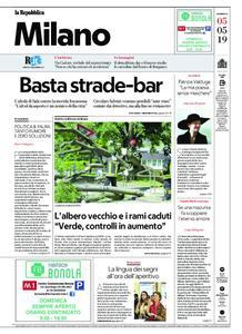 la Repubblica Milano – 05 maggio 2019