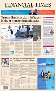 Financial Times Europe – 22 January 2020