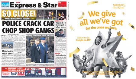 Express and Star City Edition – November 12, 2018