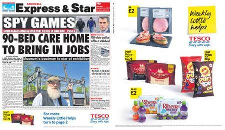 Express and Star Sandwell Edition – September 06, 2018