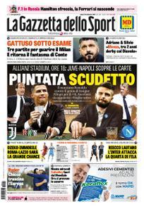 La Gazzetta dello Sport Roma – 29 settembre 2018