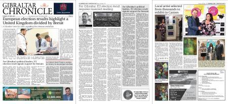 Gibraltar Chronicle – 28 May 2019