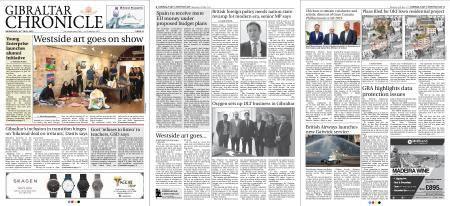 Gibraltar Chronicle – 30 May 2018