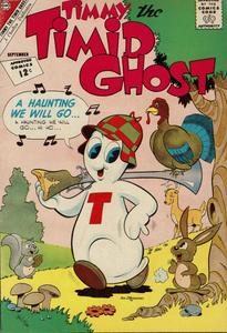 Timmy the Timid Ghost 034 1962