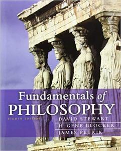 Fundamentals of Philosophy (8th Edition)