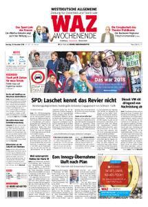 WAZ Westdeutsche Allgemeine Zeitung Oberhausen-Sterkrade - 29. Dezember 2018