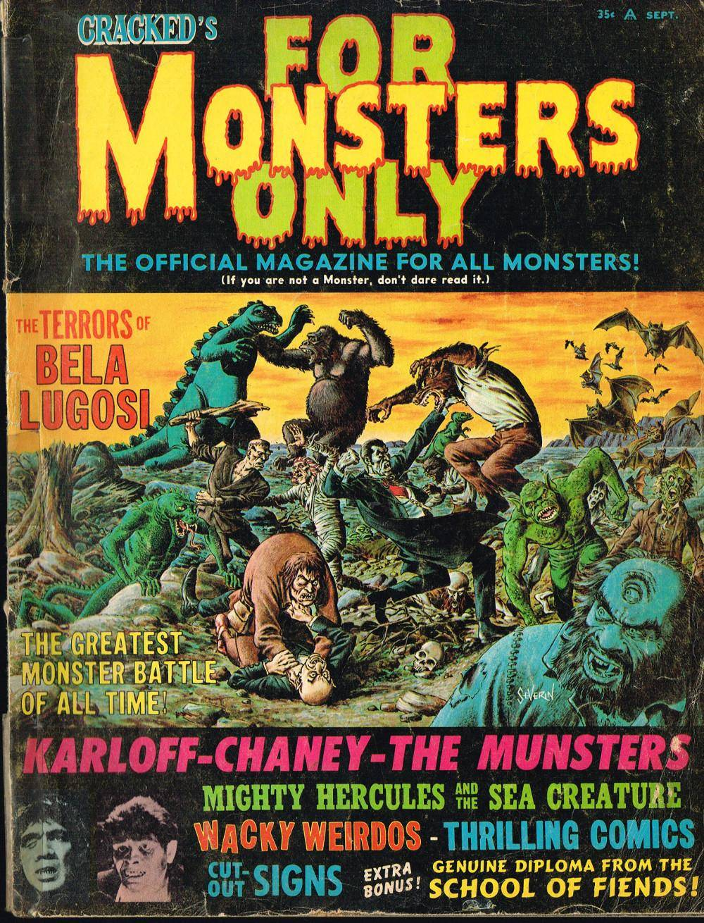 For Monsters Only 002 1966-09