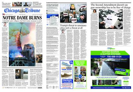 Chicago Tribune – April 16, 2019