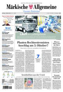 Märkische Allgemeine Zossener Rundschau - 02. Oktober 2018