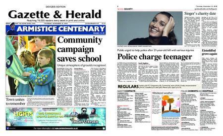 Gazette & Herald – November 15, 2018