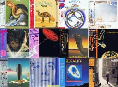 Camel - The Complete SHM-CD Set (1973 -1984) [12 Albums, 15 CDs] {2009 Japan Mini LP SHM-CD Remaster UICY-94130~94145}