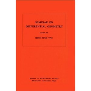 Seminar on Differential Geometry