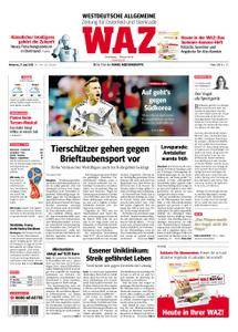WAZ Westdeutsche Allgemeine Zeitung Oberhausen-Sterkrade - 27. Juni 2018