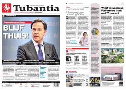 Tubantia - Hengelo – 13 maart 2020