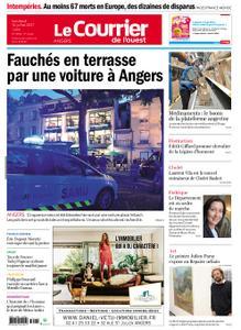 Le Courrier de l'Ouest Angers – 16 juillet 2021
