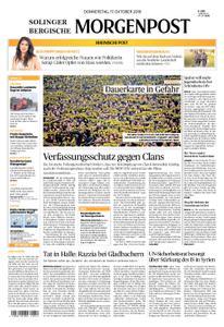 Solinger Morgenpost – 17. Oktober 2019