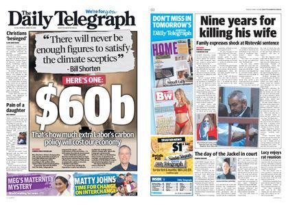 The Daily Telegraph (Sydney) – April 19, 2019