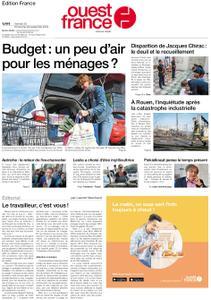 Ouest-France Édition France – 28 septembre 2019