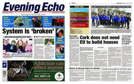 Evening Echo – March 31, 2018