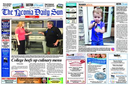 The Laconia Daily Sun – August 20, 2019