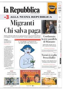 la Repubblica – 11 maggio 2019