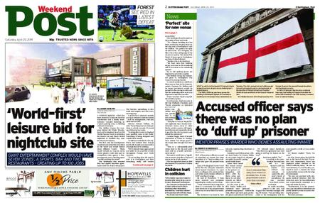 Nottingham Post – April 20, 2019