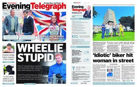 Evening Telegraph First Edition – August 27, 2018