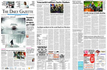 The Daily Gazette – January 25, 2019