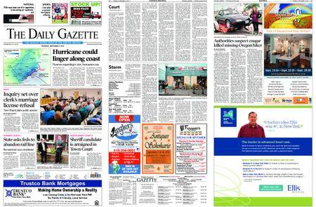 The Daily Gazette – September 13, 2018