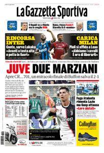 La Gazzetta dello Sport Roma – 20 ottobre 2019
