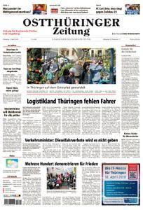 Ostthüringer Zeitung Zeulenroda - 03. April 2018