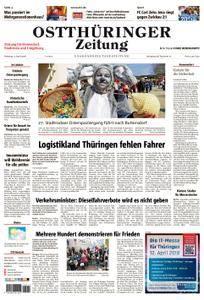 Ostthüringer Zeitung Stadtroda - 03. April 2018