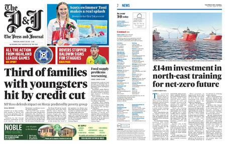 The Press and Journal Moray – August 26, 2021