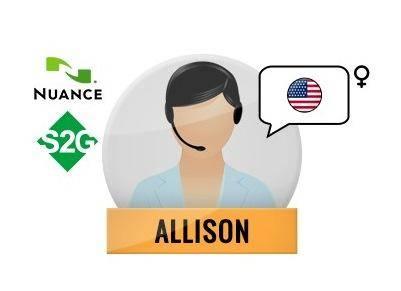 Nuance Voice Package VE Premium with Speech2Go (Allison - English)