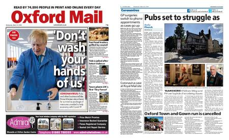 Oxford Mail – March 18, 2020