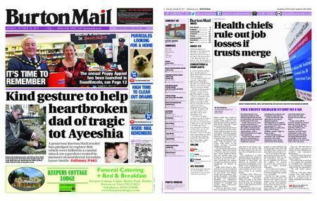 Burton Mail – October 30, 2017