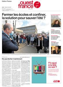 Ouest-France Édition France – 27 mars 2021