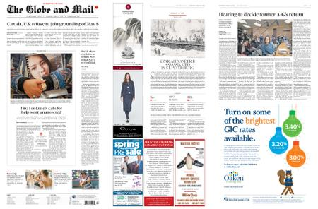 The Globe and Mail – March 13, 2019