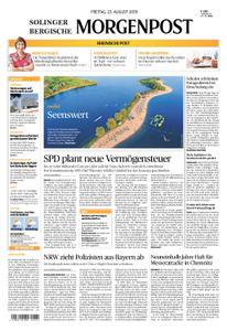 Solinger Morgenpost – 23. August 2019