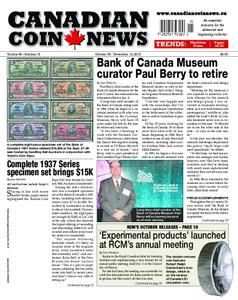 Canadian Coin News – October 09, 2018