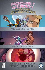 Space Goat Productions-Rocket Queen And The Wrench Vol 01 2018 Hybrid Comic eBook