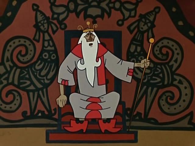 сказка о царе додоне в картинках мясо