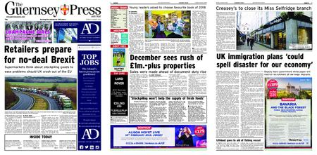 The Guernsey Press – 08 January 2019