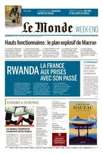 Le Monde du Samedi 6 Avril 2019