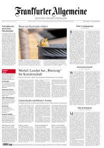 Frankfurter Allgemeine Zeitung - 19 August 2020