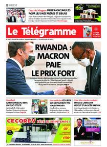 Le Télégramme Brest – 26 mai 2021