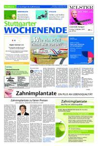 Stuttgarter Wochenende - Nordkurve - 14. September 2019