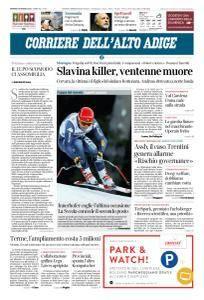 Corriere dell'Alto Adige - 16 Marzo 2018